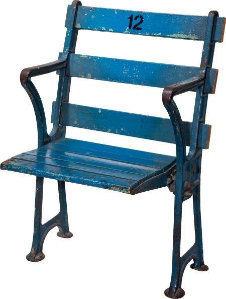 81070 1923 Original Yankee Stadium Seat Lot 81070
