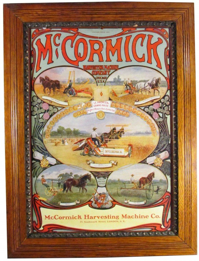 company mccormick essay Browse documents, photographs and films related to cyrus hall mccormick and the international harvester company, including more than 30,000 online items.