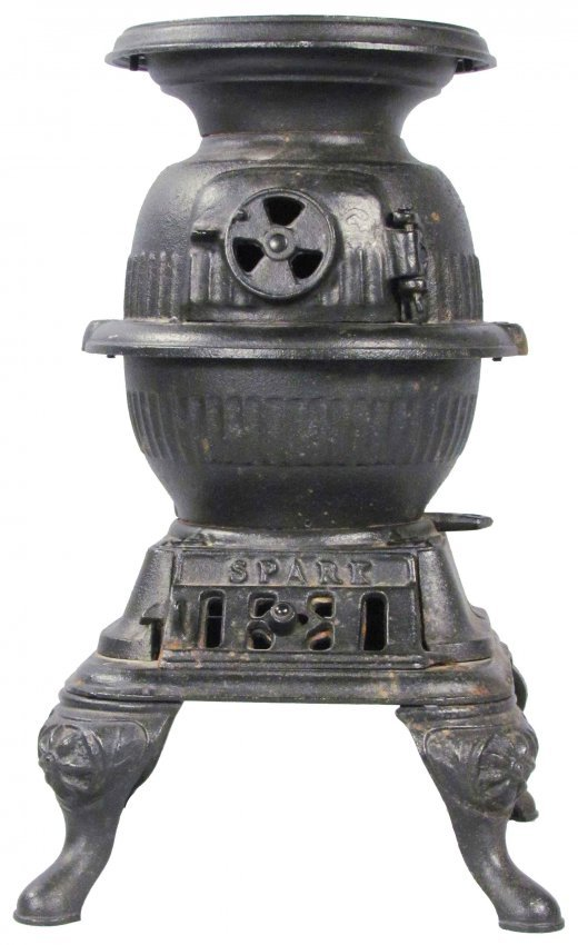 Pot Belly Stove : 603: