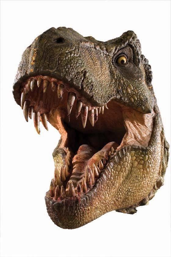 jurassic park t rex head