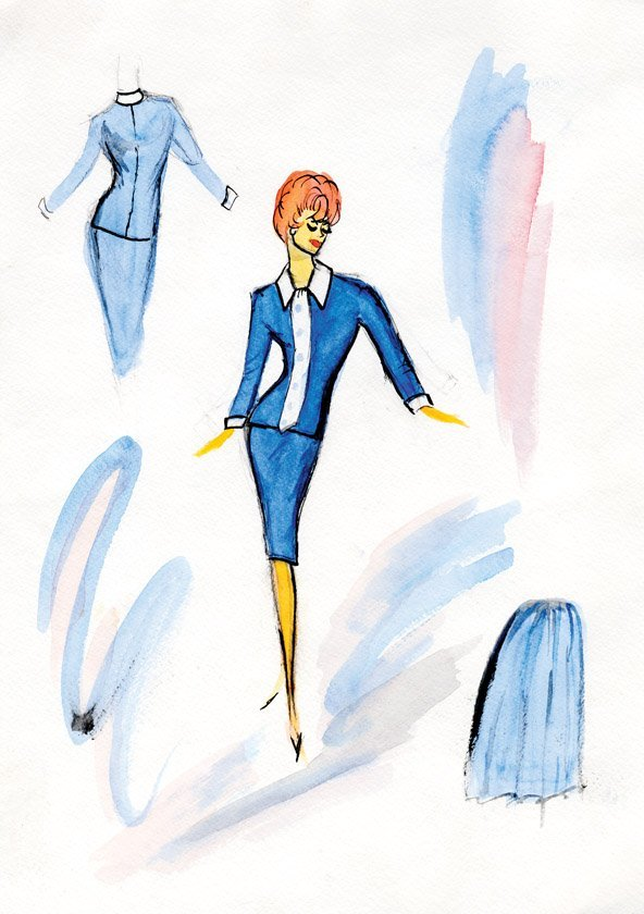 gallery for gt edith head designs for lucille ball
