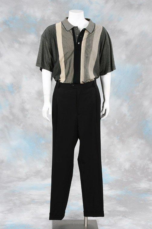 1008 James Gandolfini Tony Soprano Shirt And Pants Lot 1008
