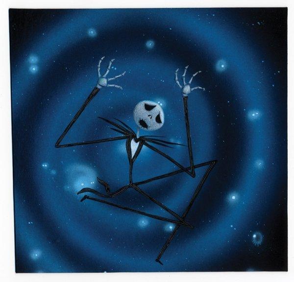 1088: Jack Skellington artwork - Nightmare Before Xmas