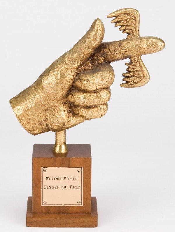 Original Flying Fickle Finger of Fate award