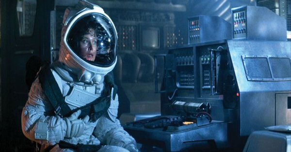 sigourney weaver iconic space suit armor from alien lot 901