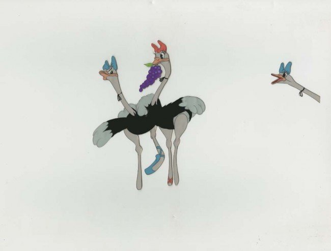 418: Cel Of Madame Upanova & Ostriches Frm Fantasia : Lot 418