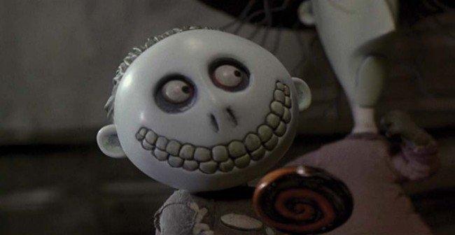 1393: Nightmare Before Christmas Barrel puppet element : Lot 1393