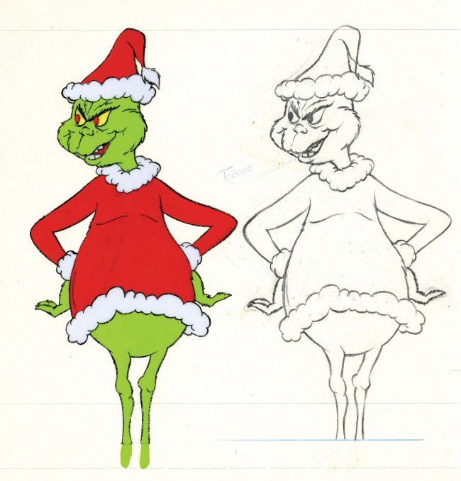 How The Grinch Stole Christmas Coloring Book | New Calendar Template ...