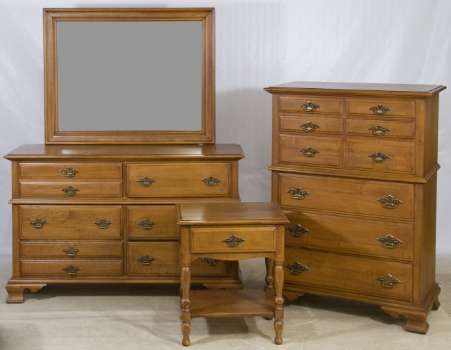 maple bedroom set by young hinckle for maple house lot 90