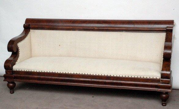 243 American Empire Style Sofa Lot 243