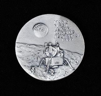silver medallion apollo 11 coin - photo #42