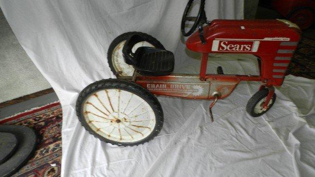 Tractor Chain Drive : Original sears pedal tractor chain drive lot
