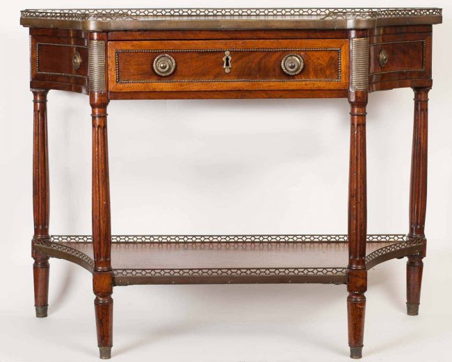 English regency console table lot 70 for Sofa table 70